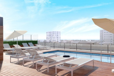 Unique Investment Opportunity for Apartments with Rooftop Pool in Poble Nou
