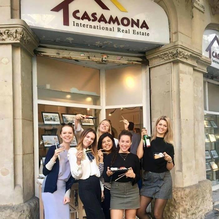 Casamona intern in Barcelona