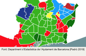 Barcelona's Foreign Population (by neighbourhoods) 1 Barcelona's Foreign Population (by neighbourhoods)