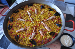 Fideuà traditional dish in Barcelona