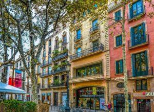 Eixample's streets