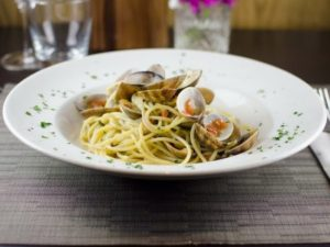 seafood pasta from Gusto